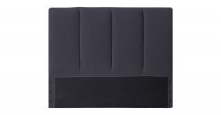 Tubes Headboard 120X200 Dark Grey