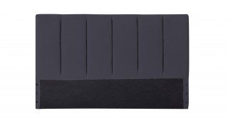 Tubes Headboard 160X200 Dark Grey