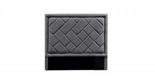 Tetris Headboard 120X200 Dark Grey