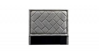 Tetris Headboard 120X200 Light Grey