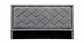 Tetris Headboard 180X200 Dark Grey
