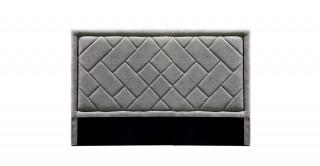 Tetris Headboard 180X200 Light Grey