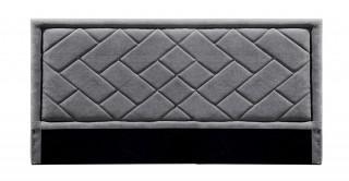 Tetris Headboard 200X200 Dark Grey