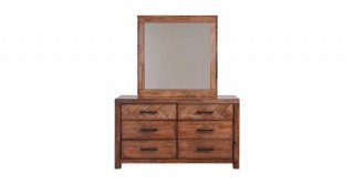 Petals Dresser With Mirror
