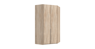 Nya Corner Wardrobe Oak
