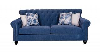 Casom 3 Seater Blue