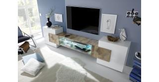 Incastro Tv Unit White/Oak