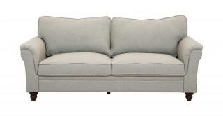 Burgas 3 Seater Sofa, Light Grey