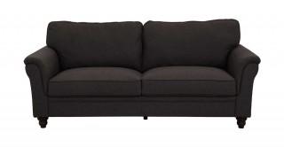 Burgas 3 Seater Sofa, Dark Grey