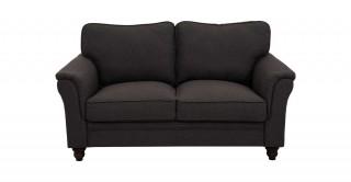 Burgas 2 Seater Sofa, Dark Grey