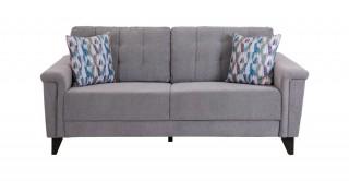 Queenstown 3 Seater Sofa Grey