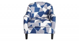 Wanoma 1 Seater Sofa - Blue