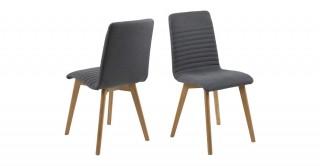 Arosa Dining Chair, Dark Grey