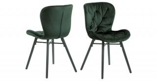 Batilda Dining Chair, Green