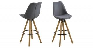 Dima Bar Chair, Grey