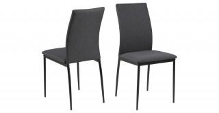 Demina Dining Chair, Grey