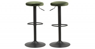 Finch Bar Chair, Green