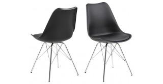 Eris Dining Chair - Black