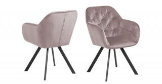 Brooke Dining Chair - Rose