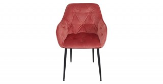 Brooke Dining Chair 58 x 55 x 83 cm - coral