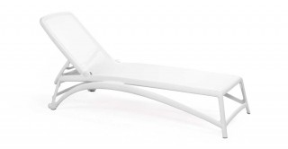 Atlantico Chaise Lounge - White