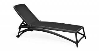 Atlantico Chaise Lounge - Black