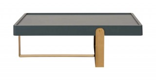 Bodrum Coffee Table Grey/Gold