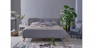 Blake Bed 180 x 200 Light Grey