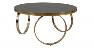 Vienna Coffee Table - Black/Gold