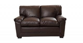 Dublin 2 Seater Sofa Brown