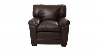 Dublin 1 Seater Sofa Brown