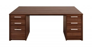 Chad Office Table Walnut