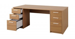 Chad Office Table Oak