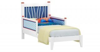 Hero Bed 90 x 200 + Barrier White/Blue
