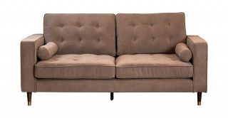 Vermont 3 Seater Taupe