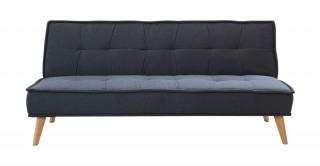 Davin 3 Seater Sofa Bed Dark Grey