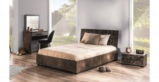 Letta Bed Blackstone 120 x 200 cm