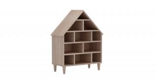 House Kids Book Case Oak