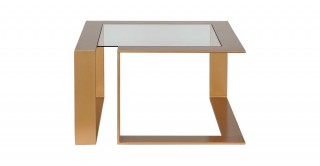 Louella Coffee Table Glass/Gold