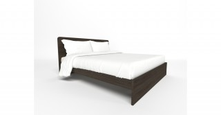 Frankfort Bed  180 x 200 - Brown