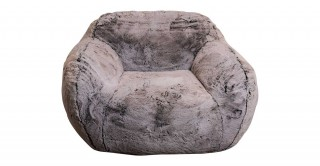 Victoria Snug Arm Chair Grey