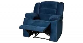 Brent Recliner Dark Blue