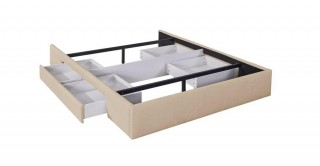 Bed Base With 2 Drawer 160 x 200