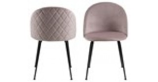Louise Dining Chair Pink