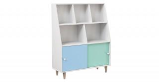 Emy Bookcase Mint/Sky Blue