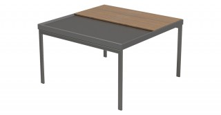 Mordern Square Coffee Table Walnut