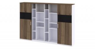 M Cabinet Walnut/White