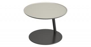 Mogee Round Coffee Table Mocha