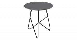 Tube Round Coffee Table Grey