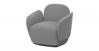 D1 1-Seat Sofa Grey